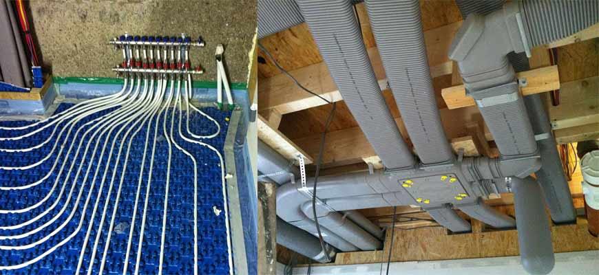 Underfloor Heating Amp Heat Recovery Unit Heat Doc